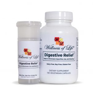 Digestive Relief™ – Helps to Eliminate Gas & Bloating