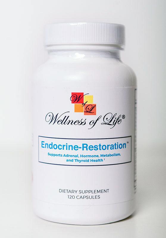 Endocrine Restoration™ - Supports Adrenal, Hormone, Metabolism & Thyroid Health